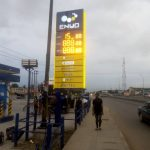 Signage for petrol station
