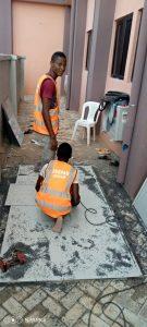 Aluminum Cladding Project Benin City