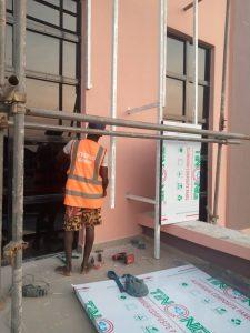 Aluminium composite panel cladding in nigeria